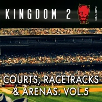 KING-190 Courts, Racetracks and Arenas Vol. 5 cover