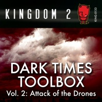KING-133 Dark Times Toolbox Vol. 2 Attack of The Drones cover