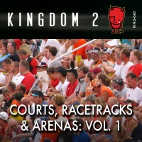 KING-040 Courts, Racetracks, & Arenas cover