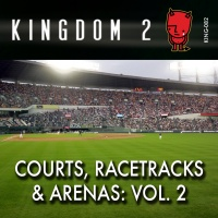 KING-082 Courts, Racetracks and Arenas Vol. 2 cover