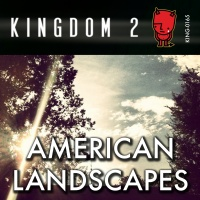 KING-165 American Landscapes cover