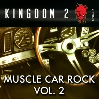 KING-161 Muscle Car Rock Vol. 2 cover
