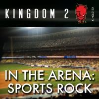 KING-132 In the Arena Sports Rock cover