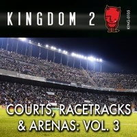 KING-105 Courts, Racetracks and Arenas 3 cover