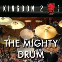 KING-014 The Mighty Drum cover