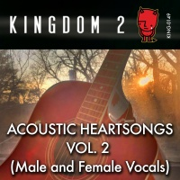 KING-149 Acoustic Heartsongs Vol. 2 cover