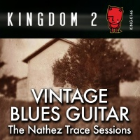 KING-146 Vintage Blues Guitar The Natchez Trace Sessions cover