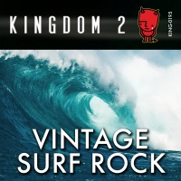 KING-195 Vintage Surf Rock cover