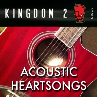 KING-079 Acoustic Heartsongs cover