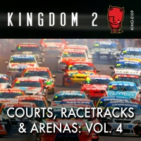 KING-109 Courts, Racetracks and Arenas Vol. 4 cover