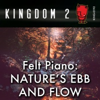 KING-192 Felt Piano Nature's Ebb And Flow cover