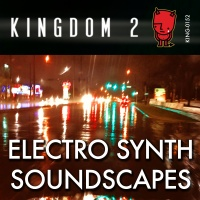 KING-152 Electro Synth Soundscapes cover