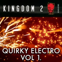 KING-183 Quirky Electro Vol. 1 cover