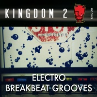 KING-004 Electro Breakbeat Grooves cover