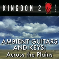 KING-181 Ambient Guitar and Keys Across The Plains cover