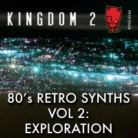 KING-166 80's Retro Synths Vol 2: Exploration cover