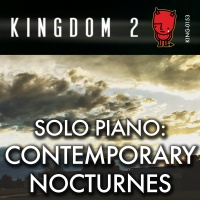 KING-153 Solo Piano Contemporary Nocturnes cover