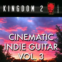 KING-111 Cinematic Indie Guitar Vol.3 cover